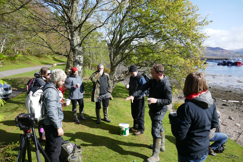 Gaelic Foraging - Dunstaffnage 25-April-2017